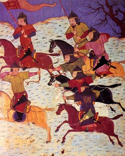 Bătălia de la Râul Kalka (31 mai 1223) Parte din invaziile mongole - foto preluat de pe ro.wikipedia.org