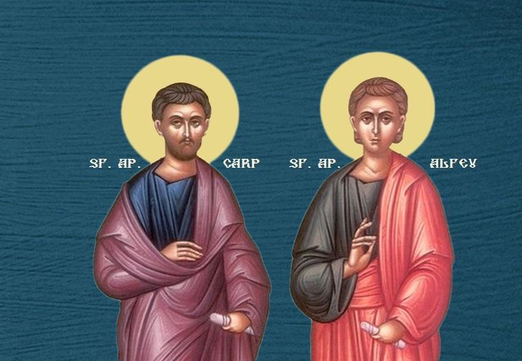 Sf. Ap. Carp şi Alfeu (26 mai) - foto preluat de pe ziarullumina.ro