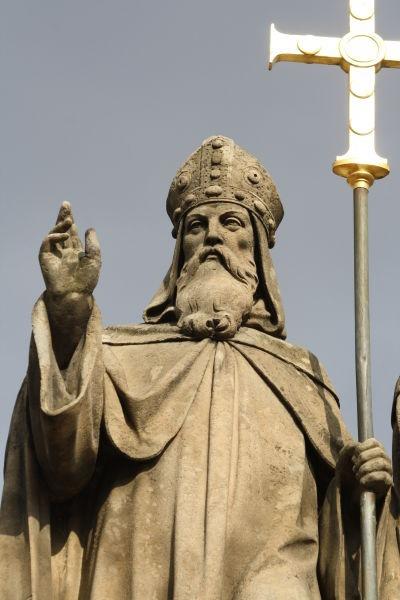 Sfântul Chiril (Ciril) (n. 826, Salonic - d. 14 februarie 869, Roma) a fost călugăr şi misionar de origine grecească - foto preluat de pe ro.wikipedia.org