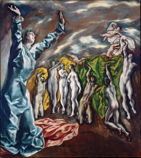 The Vision of Saint John (1608–1614), by El Greco - foto preluat de pe en.wikipedia.org