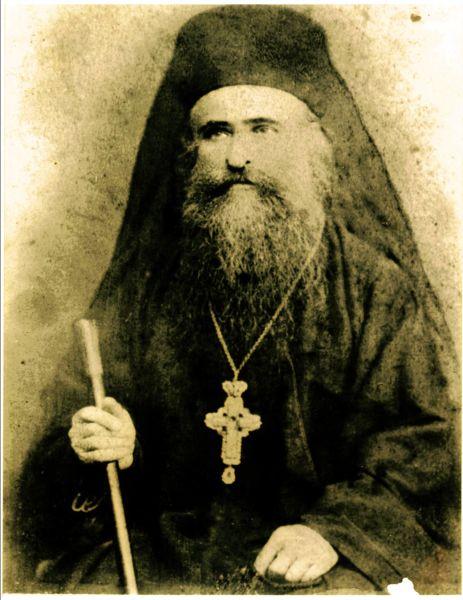 Sfântul Cuvios Irodion de la Lainici a trăit în secolul al XIX-lea, fiind monah la mănăstirea Cernica, apoi stareț vreme de 41 de ani (1854-1900) al Mănăstirii Lainici. Prăznuirea sa în Biserica Ortodoxă se face pe 3 mai - foto preluat de pe theologhia.wordpress.com