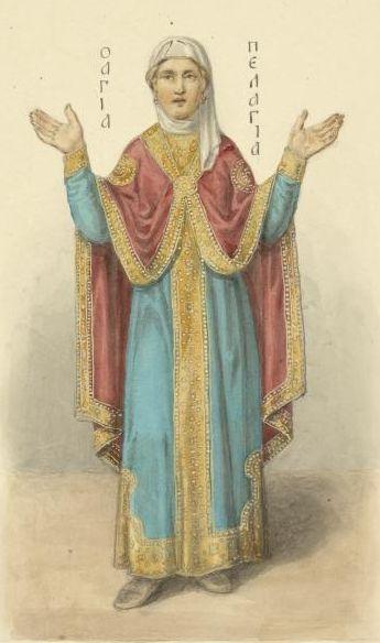 Sfânta Pelaghia din Tars a trăit în orașul Tars din provincia Cilicia, în Asia Mică în vremea domniei împăratului Dioclețian (284-305). Prăznuirea sa se face pe 4 mai -foto preluat de pe ro.wikipedia.org