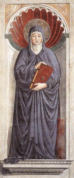 Saint Monica by Benozzo Gozzoli, 1464–65 - foto preluat de pe en.wikipedia.org