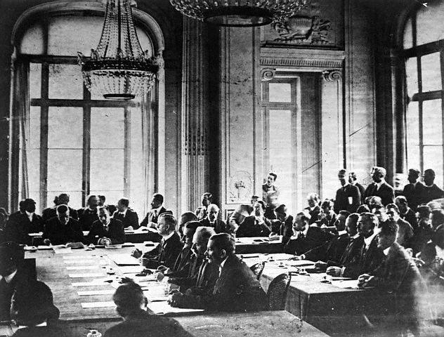 Tratatul de la București (1918) - Delegates at the treaty - foto preluat de pe en.wikipedia.org