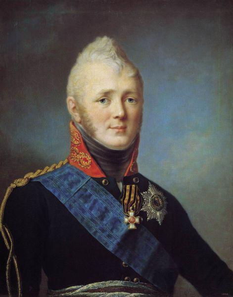 Alexandru I Pavlovici Romanov (n. 23 decembrie 1777 – d. 1 decembrie 1825), a fost ţarul Rusiei între 23 martie 1801 – 1 decembrie 1825, regele Poloniei între 1815 – 1825, precum şi Mare Duce al Finlandei - foto preluat de pe ro.wikipedia.org