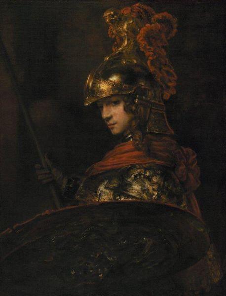 Alexandru cel Mare, portret realizat de Rembrandt - foto preluat de pe ro.wikipedia.org
