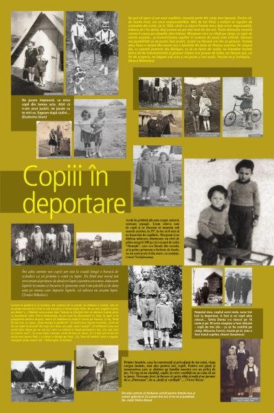Copii deportaţi în Bărăgan - foto preluat de pe www.memorialsighet.ro