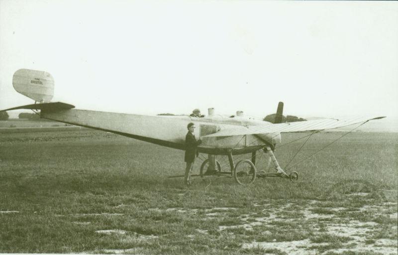 1912 Bristol-Coanda monoplane - foto preluat de pe en.wikipedia.org