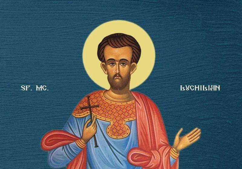 Sfântul Mucenic Luchilian - foto preluat de pe ziarullumina.ro