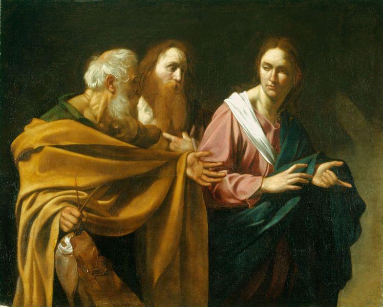 Calling of Peter and Andrew, 1603/1606, Caravaggio - foto preluat de pe en.wikipedia.org