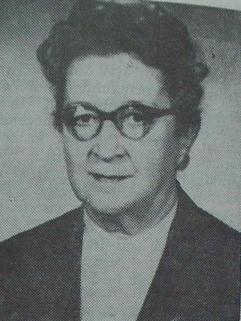 Raluca Ripan (n. 27 iunie 1894, Iaşi, România – d. 5 decembrie 1972, Cluj, RS România) a fost o chimistă, membră titulară a Academiei Române. Raluca Ripan a fost deputat în Marea Adunare Naţională în sesiunea 1952 - 1957, aleasă în regiunea Cluj, circumscripţia electorală Cluj-Nord - foto preluat de pe ro.wikipedia.org