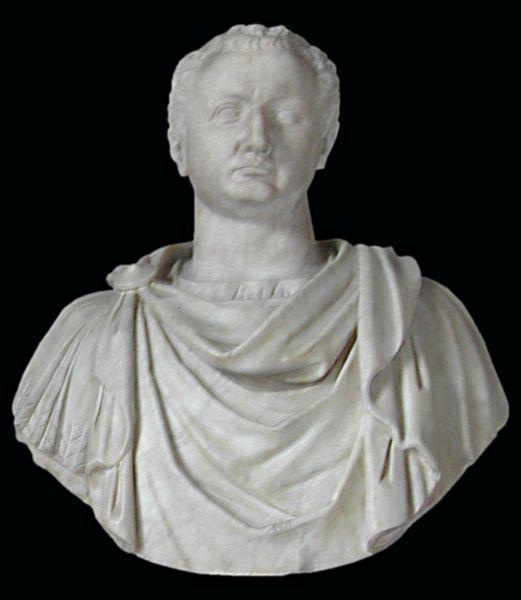 Titus Flavius Vespasianus (30 decembrie 39 – 13 septembrie 81) a fost împărat roman în perioada 79-81 - foto preluat de pe ro.wikipedia.org