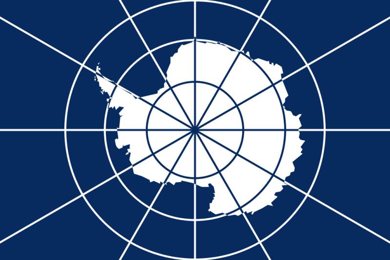 Steagul Tratatului Antarcticii - foto preluat de pe en.wikipedia.org