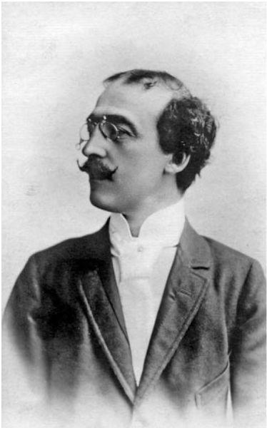 Alexandru A. Macedonski (n. 14 martie 1854, Bucureşti, Ţara Românească – d. 24 noiembrie 1920, Bucureşti, România) a fost un poet, prozator, dramaturg şi publicist român - foto preluat de pe ro.wikipedia.org