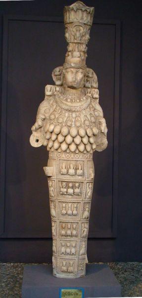 Doamna din Efes, secolul I d.Hr., Muzeul Arheologic din Efes - foto preluat de pe en.wikipedia.org