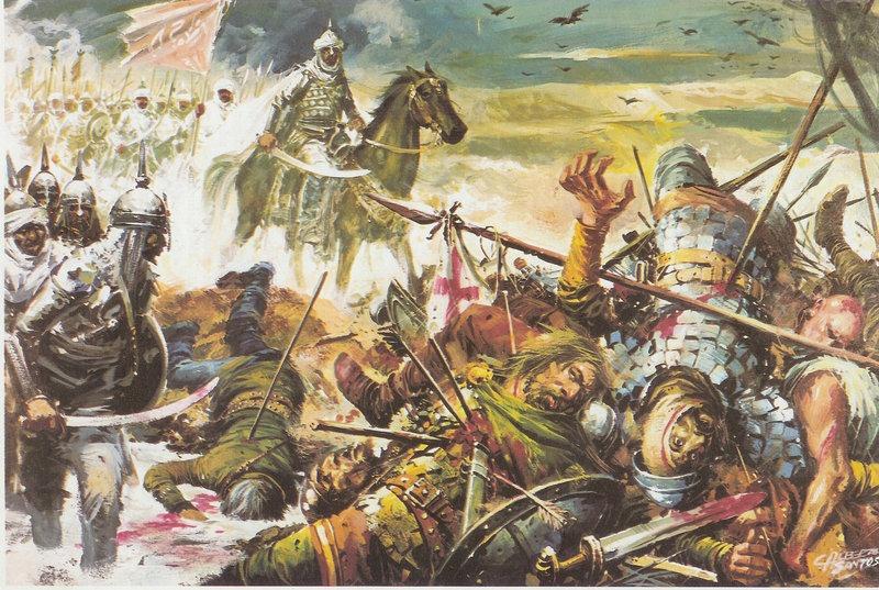 Bătălia de la Guadalete (19 iulie 711) - Cucerirea araba a Spaniei  - foto preluat de pe www.historia.ro