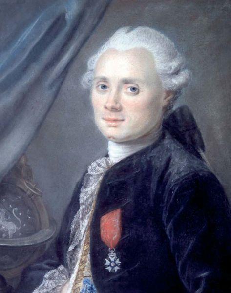 Charles Messier, descoperitorul Cometei Lexell (n. 26 iunie 1730, Badonviller, Meurthe-et-Moselle, Lorena – d. 12 aprilie 1817, Paris) a fost un astronom francez - foto preluat de pe ro.wikipedia.org