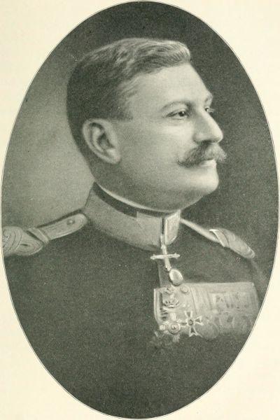 Eremia-Teofil Grigorescu (n. 28 noiembrie 1863, Golăşei, lângă Târgu Bujor, în prezent cartier al acestui oraş - d. 19 iulie 1919, Bucureşti) a fost unul dintre generalii Armatei României din Primul Război Mondial - foto preluat de pe ro.wikipedia.org