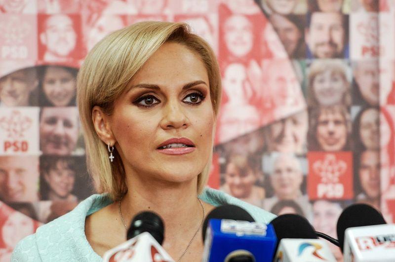 Gabriela Firea (n. 13 iulie 1972, Bacău) este om politic, membru al Partidului Social Democrat, aleasă Primar general al Municipiului București la alegerile din 5 iunie 2016 - foto preluat de pe ro.wikipedia.org