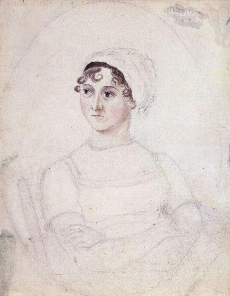 Jane Austen (n. 16 decembrie 1775, Steventon, Basingstoke and Deane, Regatul Unit – d. 18 iulie 1817, Winchester, Regatul Unit al Marii Britanii şi Irlandei) a fost o romancieră engleză din perioada romantică pre-victoriană - (1810) foto preluat de pe ro.wikipedia.org