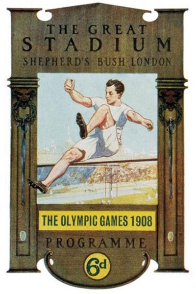 Jocurile Olimpice de vară din 1908 - foto preluat de pe ro.wikipedia.org