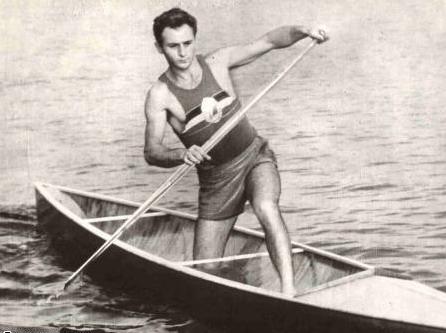 Leon Rotman (n. 22 iulie 1934, Bucureşti) este un canoist evreu român, dublu laureat cu aur la Melbourne 1956 şi laureat cu bronz la Roma 1960 - foto preluat de pe ro.wikipedia.org