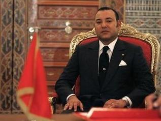 Mohammed al VI-lea (arabă محمد السادس) este actualul rege al Marocului. S-a născut la 21 august 1963 și i-a succedat tatălui său, Hassan II, în iulie 1999 - foto preluat de pe http://www.mapnews.ma