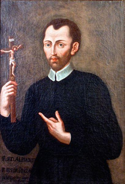 Sfântul Alfons Maria de Liguori (n. 1696, Napoli, d. 1787, Pagani, Campania, Italia) a fost un episcop catolic italian, întemeietor al unei congregații călugărești, învățător al Bisericii, sfânt - foto preluat de pe ro.wikipedia.org
