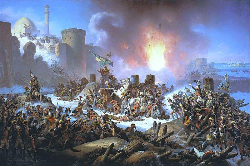 Asediul de la Oceac (1788), by January Suchodolski - foto preluat de pe ro.wikipedia.org