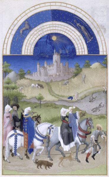 August, Les Très Riches Heures du duc de Berry - foto preluat de pe ro.wikipedia.org