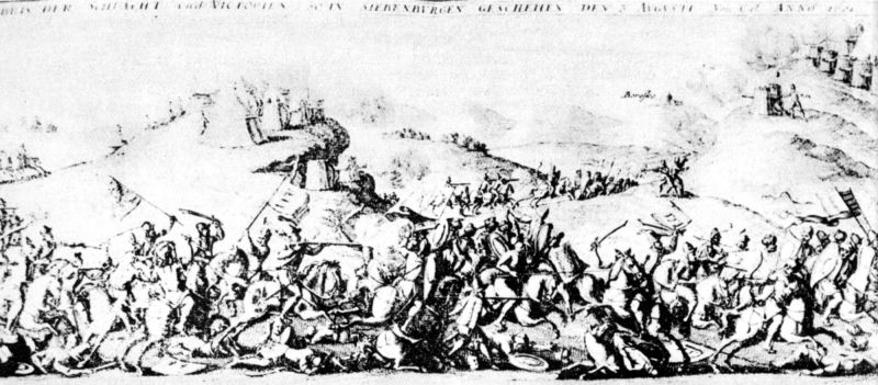 Bătălia de la Guruslău (3 august 1601) - Parte a Războiului cel Lung - Michael the Brave defeating the Hungarians in Guraslau, 1601 - foto preluat de pe ro.wikipedia.org