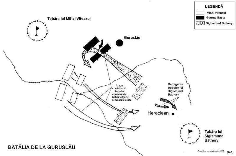 Bătălia de la Guruslău (3 august 1601) - foto preluat de pe enciclopediaromaniei.ro