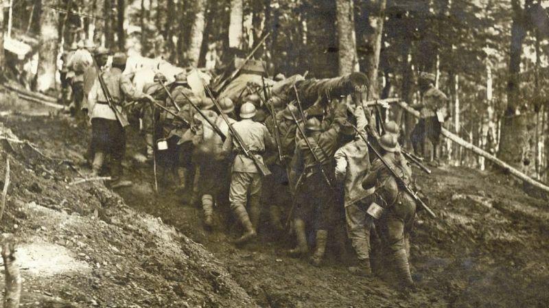 Bătălia de la Oituz (26 iulie/8 august - 9/22 august 1917) - foto preluat de pe www.historia.ro