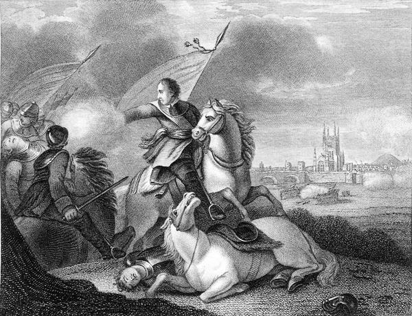 Oliver Cromwell in Bătălia de la Worcester (3 septembrie 1651) - foto preluat de pe en.wikipedia.org