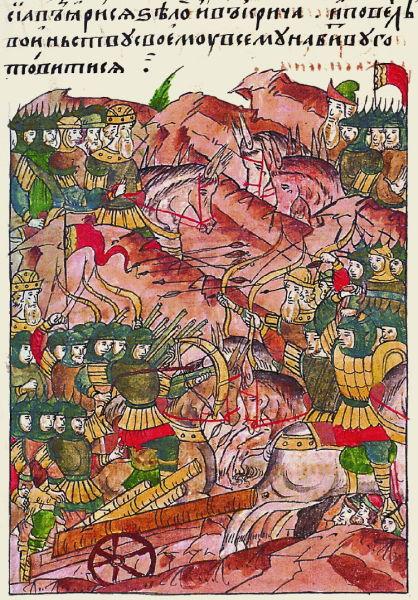 Bătălia de pe Râul Vorskla (12 august 1399) - foto preluat de pe ro.wikipedia.org