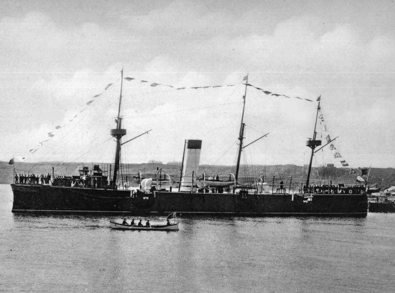 Crucişătorul Elisabeta a fost nava amiral a Flotei Militare Române între anii 1888 - 1918. Nava fost numită după prima regină a României, Elisabeta. Cu acest crucişător, Grigore Antipa a participat timp de nouă luni, în 1893, la o expediţie ştiinţifică internaţională în jurul Mării Negre. Nava a fost pusă la dispoziţia lui Antipa de către regele Carol I al României - foto preluat de pe ro.wikipedia.org