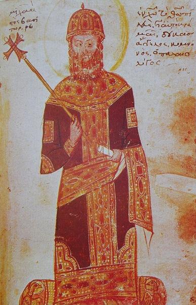 Mihail al VIII-lea Paleologul a fost împărat al Imperiului Roman de Răsărit (Bizantin) între 1259 - 1282. A rămas celebru prin recucerirea Constantinopolului în 1261, după 57 de ani în care cetatea fusese sub stăpânirea Imperiului Latin de Constantinopol - foto preluat de pe ro.wikipedia.org