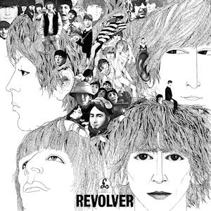 Revolver - Album de The Beatles(Coperta albumului) - foto preluat de pe ro.wikipedia.org
