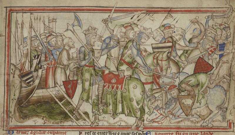 Bătălia de la Fulford (20 septembrie 1066) - Parte a invaziei vikinge a Angliei - foto preluat de pe en.wikipedia.org