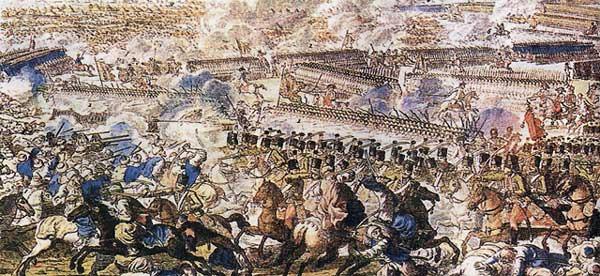 Bătălia de la Râmnic (11/22 septembrie 1789) parte din Războiul Ruso-Austro-Turc din 1787–1792 - (Încleștare între trupele ruso-austriece și cele turcești) foto preluat de pe ro.wikipedia.org
