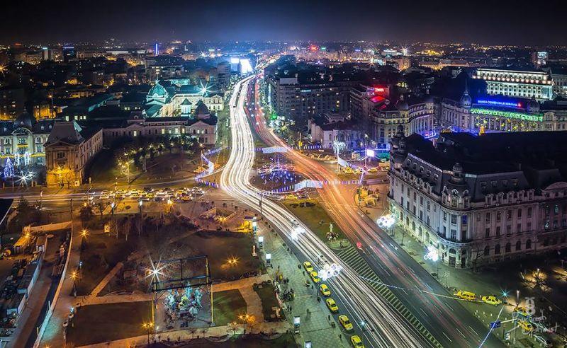 Bucureşti - foto preluat de pe www.facebook.com/BucurestiOptimist
