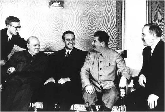 Prima conferință de la Moscova - foto preluat de pe ww2resource.wordpress.com