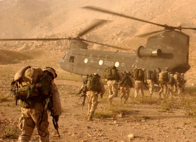 U.S. soldiers in Afghanistan - foto preluat de pe en.wikipedia.org