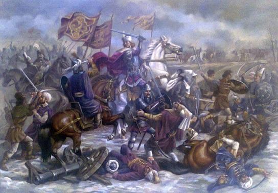 Bătălia de la Codrii Cosminului (26 octombrie 1497) - Parte din Războaiele Moldoveano-Polone - foto preluat de pe www.istorie-pe-scurt.ro