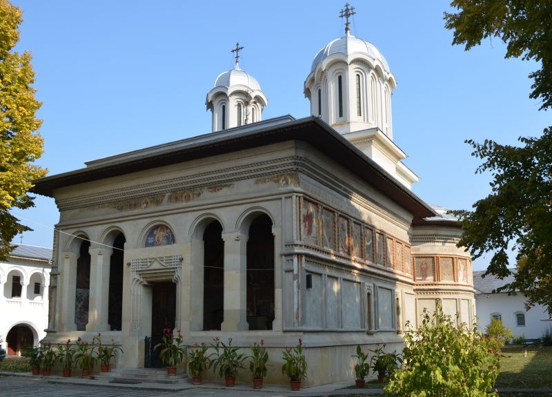 Biserica mănăstirii Căldărușani - foto preluat de pe ro.wikipedia.org