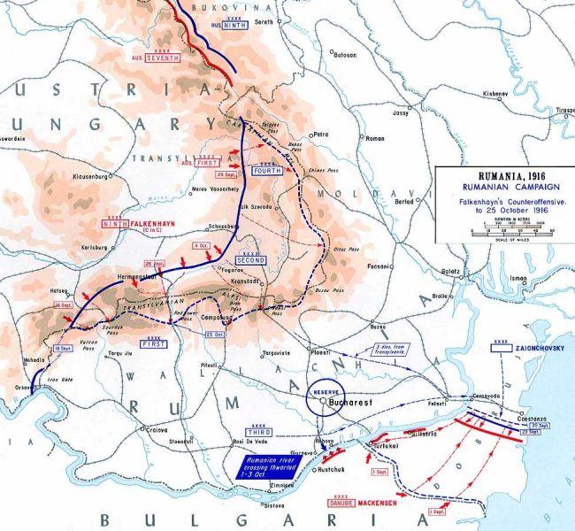 Contraatacul Puterilor Centrale, septembrie-octombrie 1916 - foto preluat de pe ro.wikipedia.org