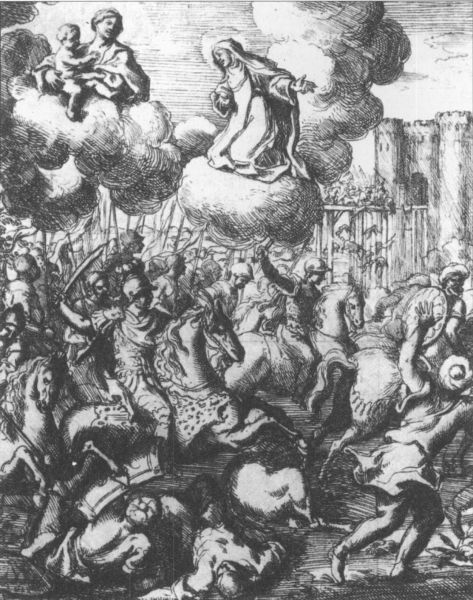 Bătălia de la Hotin (11 noiembrie 1673) - parte din Războiul polonez-otoman din 1672–1676 (O ilustrare medievalǎ a Bǎtǎliei de la Hotin din 1673) - foto preluat de pe ro.wikipedia.org