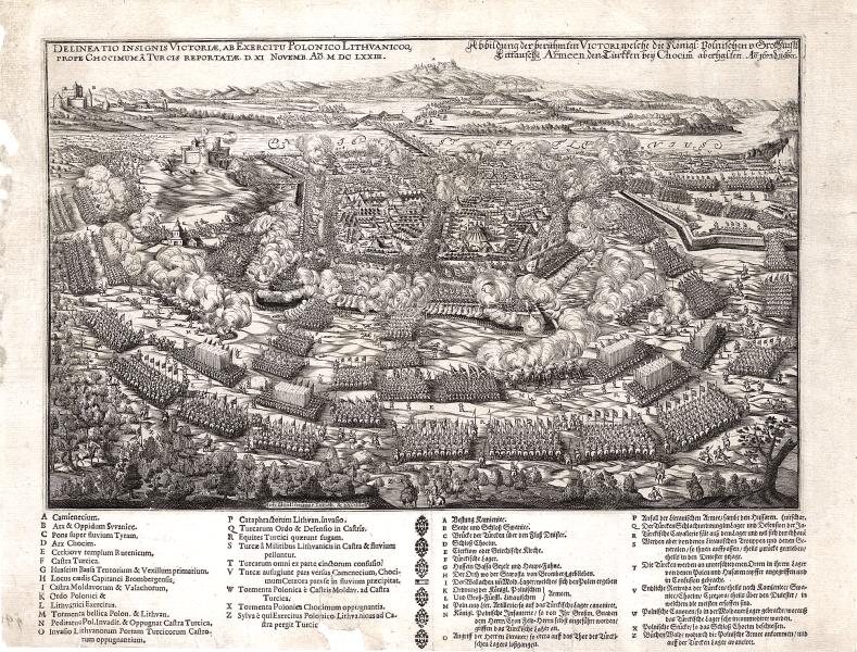 Bătălia de la Hotin (11 noiembrie 1673) - parte din Războiul polonez-otoman din 1672–1676 - foto preluat de pe en.wikipedia.org