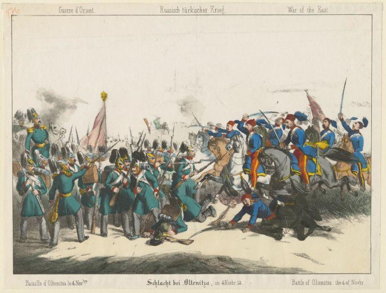 Bătălia de la Oltenița (4 noiembrie 1853), Parte din Războiul Crimeii - foto preluat de pe ro.wikipedia.org
