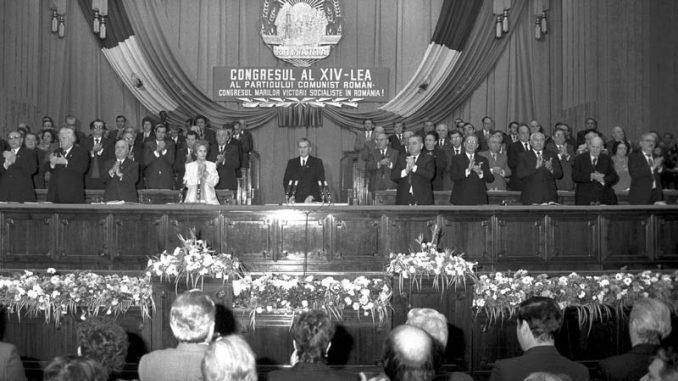 Congresul al XIV-lea al PCR (20-24 noiembrie 1989) - foto preluat de pe www.cotidianul.ro